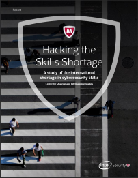 2016 Hacking the Skills Shortage by Intel Security and CSIS