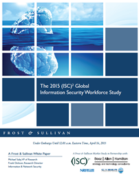 2015 Global Workforce Study by (ISC)2